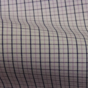 HTS 5059 - Peach Check Lilac Purple