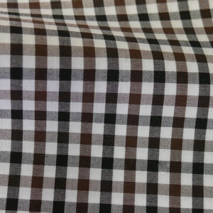 HTS 8411 - Small Gingham Brown Black