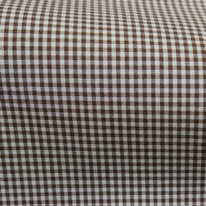 HTS 8426 - Micro Gingham Brown