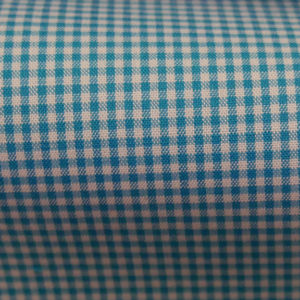 HTS 8441 - Micro Gingham Teal