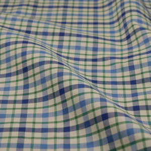 HTS 8513 - Easy-Iron Poplin Celtic/ French Blue
