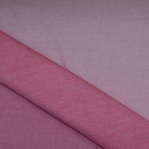 HTS 8530 - Easy Iron Two-Tone Twill Cerise/ Baby Pink