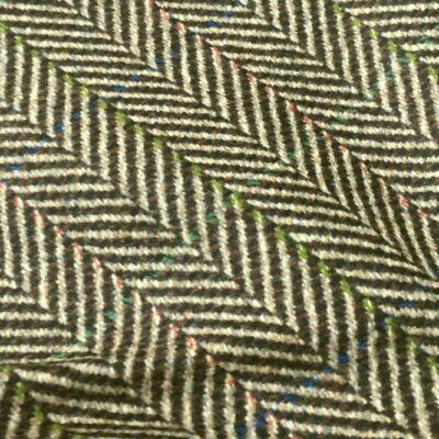RTS19 - Olive Fawn Herringbone Coating w/ Red Blue Green OC (540 grams)