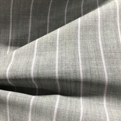 H2029 - Grey W/ Lilac Banker Stripe