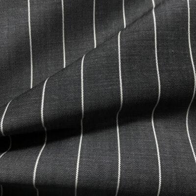 H2030 - Dark Grey W/ White Banker Stripe