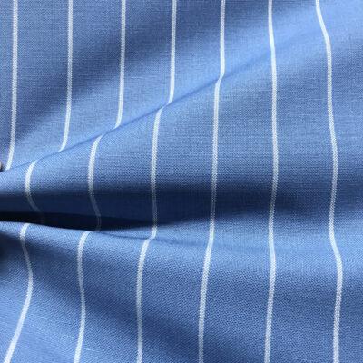 H2031 - Light Blue W/ White Banker Stripe