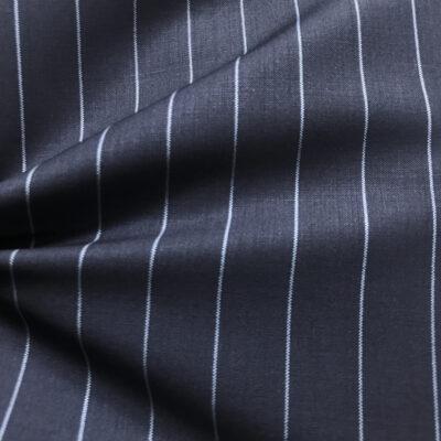 H2034 - Navy W/ Pale Blue Banker Stripe