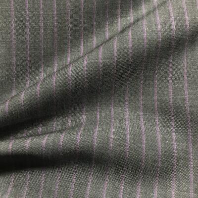 H2036 - Grey W/ Purple Pin Stripe