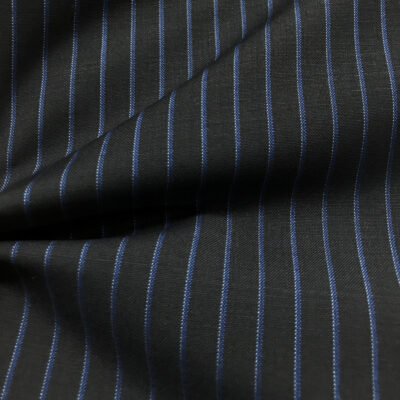 H2037 - Navy W/ Mid Blue Stripe and White Pin