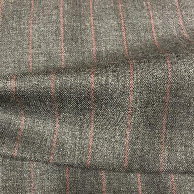 SAL13 - Grey W/ Red Pin