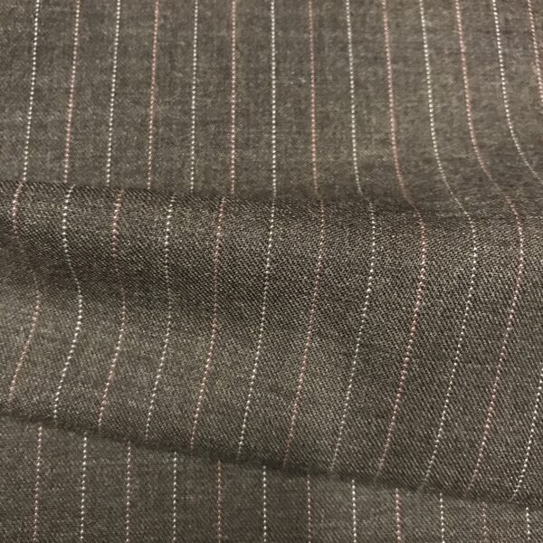 SAL18 - Brown W/ Pin and White Stripe