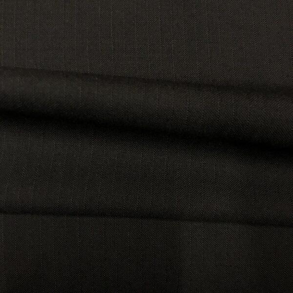 SAL41 - S100 W/ Kid Mohair Black Self Stripe