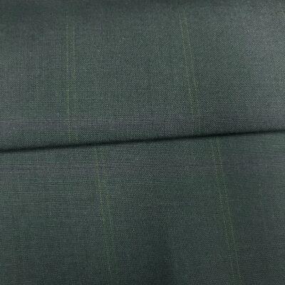 SAL49 - All Wool Blue W/ Purple and Orange Overcheck
