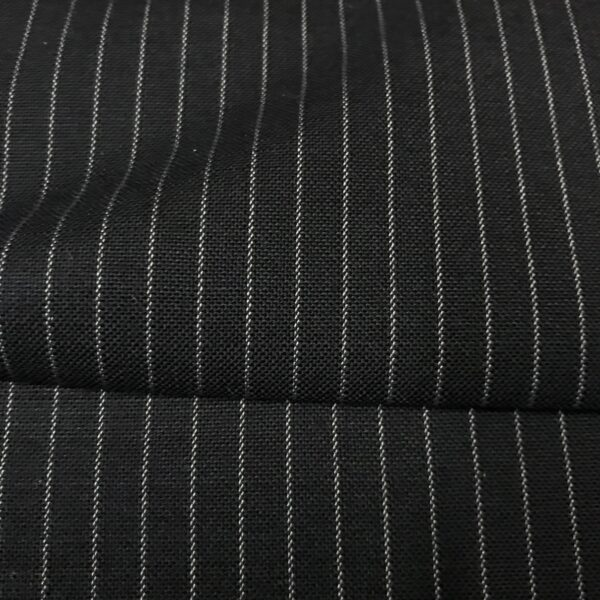 SAL65 - Extrafine 100% Merino Wool Navy W/ 2mm White Pin