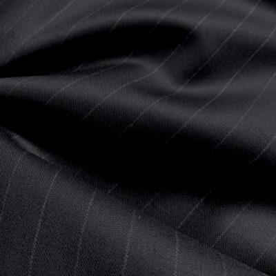 Black Chalkstripe