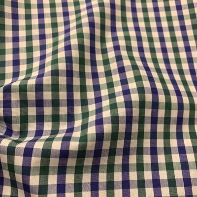 HTS44 - Blue and Green Gingham