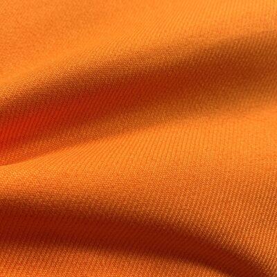 SAL88 - Orange Plain Blended Fabric
