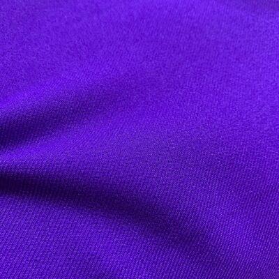 SAL89 - Purple Plain Blended Fabric